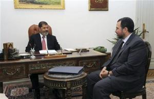 Mr.Morsi, President of Egypt