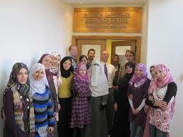 Students at Al-Azhar University